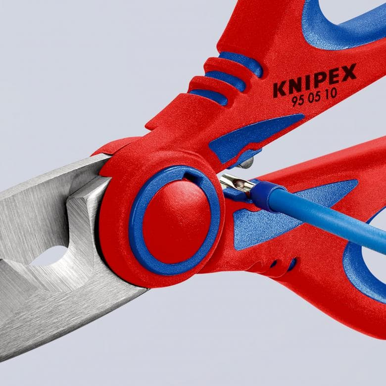 KNIPEX 95 05 155 SB Elektrikerschere 155 mm