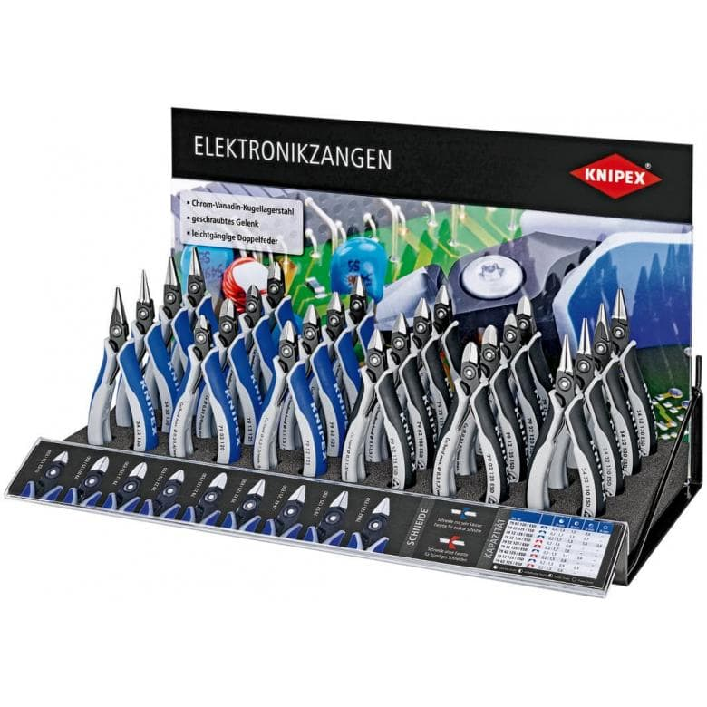 KNIPEX 00 19 34 2 V01 Elektronikzangen-Display leer