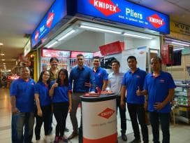 Erster KNIPEX-Store in Indonesien